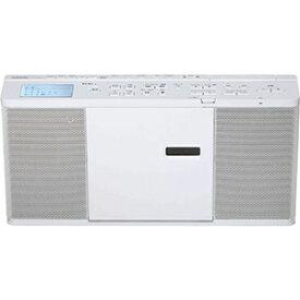 東芝 CDラジオ(ラジオ+SD+USBメモリー+CD) TY−CX700(W) ホワイト [ワイドFM対応]