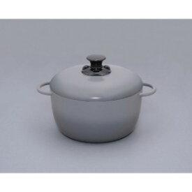 アイリスオーヤマ 無加水鍋 GMKS−24D グレー