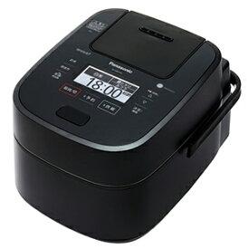 パナソニック Panasonic 炊飯器 「Wおどり炊き」[5.5合/スチーム&可変圧力IH] SR−VSX109−K ブラック