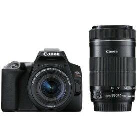 Canon デジタル一眼レフカメラ EOS Kiss X10 ブラック 【ダブルズームキット】