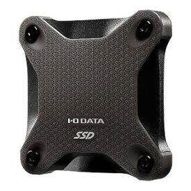 I・O・DATA 外付けSSD ブラック [ポータブル型 /480GB] SSPH−UT480K