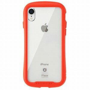 HAMEE [iPhone XR専用]iFace Reflection強化ガラスクリアケース 41−907238 レッド