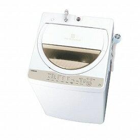 東芝 全自動洗濯機 [洗濯6.0kg/ふろ水ポンプあり] AW−6G8−W グランホワイト(標準設置無料)