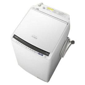 日立 縦型洗濯乾燥機 「ビートウォッシュ」 [洗濯8.0kg/乾燥4.5kg/ヒーター乾燥(水冷・除湿タイプ)] BW−DV80E−W ホワイト(標準設置無料)