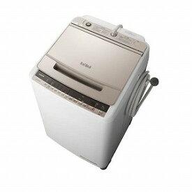 日立 全自動洗濯機 「ビートウォッシュ」 [洗濯10.0kg/インバーターモーター搭載] BW−V100E−N シャンパン(標準設置無料)