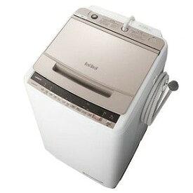 日立 全自動洗濯機 「ビートウォッシュ」 [洗濯8.0kg/インバーターモーター搭載] BW−V80E−N シャンパン(標準設置無料)