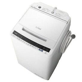 日立 全自動洗濯機 「ビートウォッシュ」 [洗濯8.0kg/インバーターモーター搭載] BW−V80E−W ホワイト(標準設置無料)