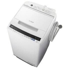 日立 全自動洗濯機 「ビートウォッシュ」 [洗濯7.0kg/インバーターモーター搭載] BW−V70E−W ホワイト(標準設置無料)