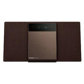 パナソニック 「ワイドFM対応」Bluetooth対応 ミニコンポ SC−HC410−T ブラウン [ワイドFM対応 /Bluetooth対応]