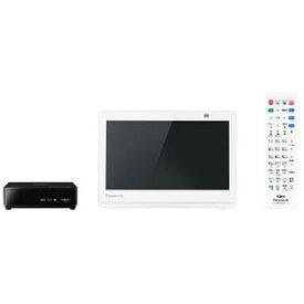 パナソニック Panasonic 10V型ポータブルテレビ[防水対応]プライベートビエラ UN−10CE9−W ホワイト