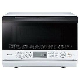 東芝 TOSHIBA 角皿式スチームオーブンレンジ「石窯オーブン」[23L/フラット庫内] ER−T60−W グランホワイト