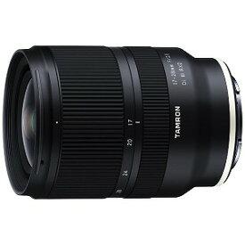 タムロン カメラレンズ 17−28mm F/2.8 Di III RXD(Model A046)「ソニーEマウント」 [ソニーE /ズームレンズ] A046_17−28F2.8Di3【発売日以降のお届け】