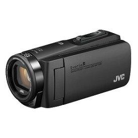 JVC・ビクター SD対応 64GBメモリー内蔵 防水・防塵・耐衝撃フルハイビジョンビデオカメラ GZ−RX690−B ブラック