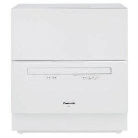 パナソニック 食器洗い乾燥機 (5人用・食器点数40点) NP−TA3−W ホワイト