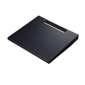 WALL テレビスタンドV2・V3 専用棚板 ラージサイズ ブラック サテンブラック D05000019(ブラ