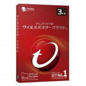 トレンドマイクロ ウイルスバスター クラウド 3年版 PKG TICEWWJEXSBUPN3701Z