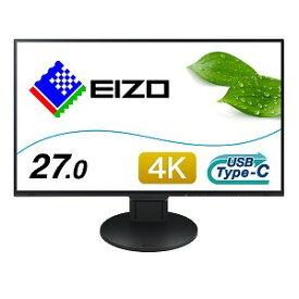 EIZO 4K対応 27.0型液晶ディスプレイ Surface対応モデル FlexScan EV2785−SFBK