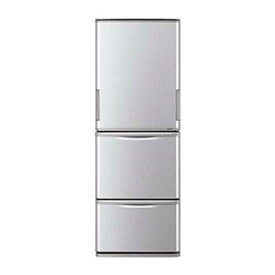 シャープ SHARP 3ドア冷蔵庫(350L/左右開きタイプ) SJ−W352E−S シルバー系(標準設置無料)