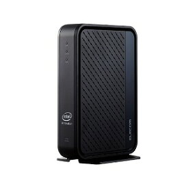 エレコム ELECOM 無線LANルーター親機 11ax.ac.n.a.g.b 2402+600Mbps 有線Giga IPv6(IPoE)対応 ブラック WRC−X3000GS