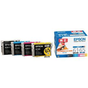 EPSON インクカートリッジ 4色パック IC4CL6165