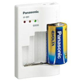 パナソニック Panasonic 電池チェッカー(単1〜単5、9V対応) FF‐991P‐W