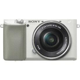 ソニー SONY ミラーレス一眼カメラ α6100 パワーズームレンズキット [ズームレンズ] ILCE−6100L−W ホワイト