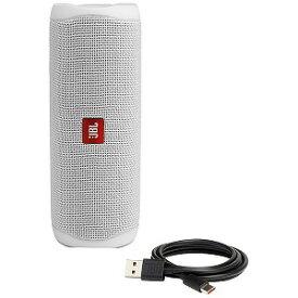 JBL Bluetoothスピーカー JBLFLIP5WHT ホワイト