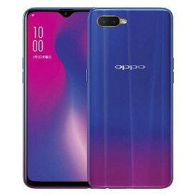 OPPO SIMフリースマートフォン「CPH1893RD」Snapdragon 660 6.4型・メモリ/ストレージ:4GB/128GB nanoSIMx2 OPPO R17 Neo ブルー