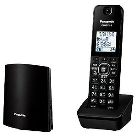 パナソニック Panasonic 「親機コードレス/単独子機」デジタルコードレス留守番電話機 VE−GZL40DL−Bブラック