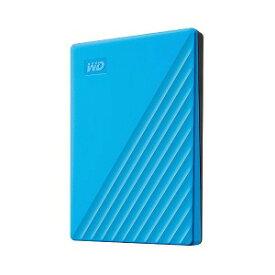 ウエスタンデジタル USB 3.1 Gen 1(USB 3.0)/2.0対応 ポータブルHDD WD My Passport 2TB WDBYVG0020BBL−JESN ブルー