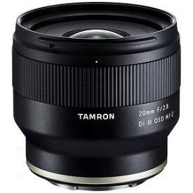 タムロン カメラレンズ 20mm F/2.8 Di III OSD M1:2(Model F050)「ソニーEマウント」[ソニーE/単焦点レンズ] F050_20F2.8Di3_M1:2