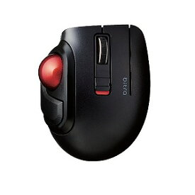 エレコム ELECOM マウス トラックボール [光学式 /5ボタン /Bluetooth /無線(ワイヤレス)] M−MT1BRSBK ブラック