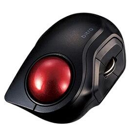 エレコム ELECOM マウス トラックボール [光学式 /5ボタン /Bluetooth /無線(ワイヤレス)] M−MT2BRSBK ブラック