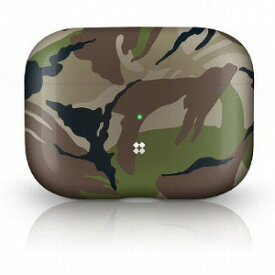 PRISMART Case for AirPods Pro Camo Wood CSAPPPACW(カモウ