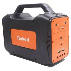 新東京物産 大容量ポータブル電源 TPD−J130 オレンジ/ブラック