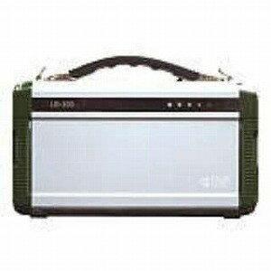 ポータブル蓄電池 エナジー・プロmini[200W/h/ACx2・USBx2] LB−200 グリーンxシルバー