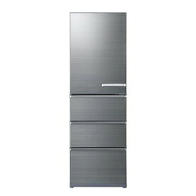 アクア AQUA 4ドア冷蔵庫(458L・左開きタイプ) AQR−V46JL(S) チタニウムシルバー(標準設置無料)