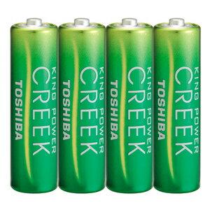 東芝 「単3形乾電池」マンガン乾電池 4本パック R6P EM 4KP