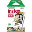 富士フィルム インスタントカラーフィルム instax mini 1パック (10枚入) INSKR1