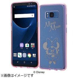 INGREM Galaxy S8用 ハイブリッドケース ディズニー・ミニーマウス IN−DGS8U/MN