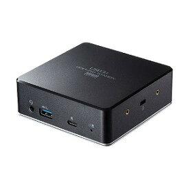 サンワサプライ VESAマウント対応Type−C・USB3.1A接続ドッキングステーPD85W対応 USB−CVDK5