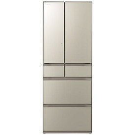 日立 HITACHI 6ドア冷蔵庫(602L・フレンチドアタイプ) R−HX60N−XN ファインシャンパン(標準設置無料)