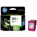 HP HP121XL プリントカートリッジ カラー (増量) CC644HJ(送料無料)