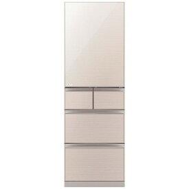 三菱 Mitsubishi Electric 冷蔵庫 スマート大容量 クリスタルフローラル [5ドア/右開きタイプ/455L] MR−B46F−F(標準設置無料)