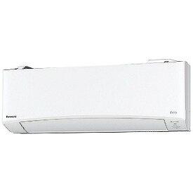 パナソニック Panasonic エアコン Eolia(エオリア)EXBKシリーズ 2.2kw おもに6畳用 CS−220DEXBK−W クリスタルホワイト(標準取付工事費込)