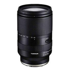 タムロン [ソニーE/ズームレンズ] 28−200mm F/2.8−5.6 Di III RXD28_200F2.8_5.6_Di3