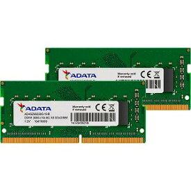 ADATA 増設メモリ ノートPC用 AD4S266638G19−D [SO−DIMM DDR4 /8GB /2枚]