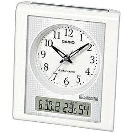 CASIO 置き時計 TQT‐351NJ‐7BJF (ホワイト)
