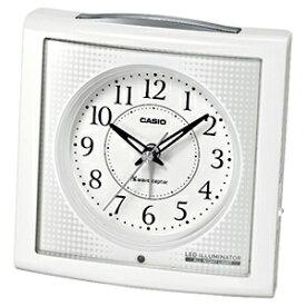 CASIO 置き時計 TQT‐251NJ‐7BJF (ホワイト)