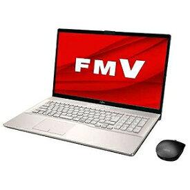 富士通 FUJITSU ノートパソコン LIFEBOOK NH75/E2 シャンパンゴールド [17.3型/AMD Ryzen 5/SSD:512GB/メモリ:8GB/2020年6月モデル] FMVN75E2G